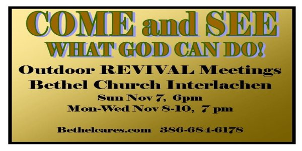 OutDoor Revival Services